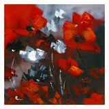 Red Poppies II Prints by Nathalie Poulin