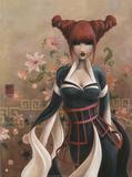Veuve Noire Prints by  Misstigri