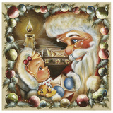 Commande Pere Noel Prints by Stephanie Holbert