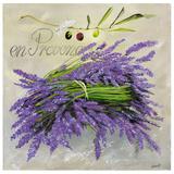 En Provence Lavande Prints by  Lizie