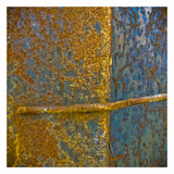 Rusty Panel IV Print by Jean-François Dupuis