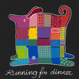 Running For Dinner Art by Y. Hope