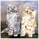 2 Chatons Posters by  Clauva