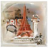 Paris Tour Eiffel Posters par  Lizie