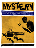 Mystery Literary Genre Prints by Jeanne Stevenson