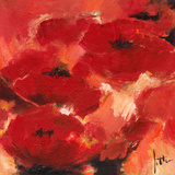 Abstract Flowers II Prints by Jettie Roseboom