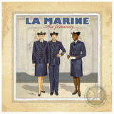 La Marine Print by Bruno Pozzo