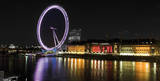 London Eye, Night Prints by  Cristapper