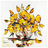 Fleurs Jaunes Posters by Christof Monnin