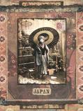 Japonaise En Hiver Prints by Gwenaelle Trolez