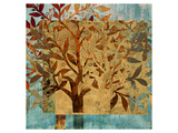 Serendipity Tree II Premium Giclee Print by Louise Montillio