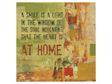 A Smile is a Light in the Window of the Soul Lámina giclée de primera calidad por Irena Orlov
