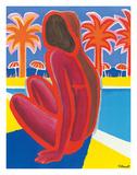 La Cote D'Azur c.1968 Giclee-vedos tekijänä Bernard Villemot