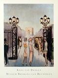 Porte Dauphine Affiches par Kees van Dongen