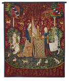 Lady and Unicorn Sound Wall Tapestry
