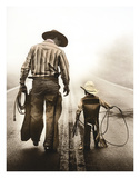 Learning the Ropes Giclee Print by Randy Jay Braun