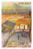 Cusco, Peru c.1950's Poster by F.C. Hannon