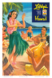 Libby's Hula Girl c.1957 Affiches par Lafferty