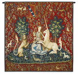 Lady and Unicorn Sight Wall Tapestry