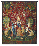 Lady and Unicorn Smell Wall Tapestry
