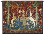 Lady and Unicorn Taste Wall Tapestry