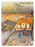 Cusco, Peru c.1950's Prints by F.C. Hannon