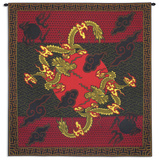 Double Dragon Wall Tapestry