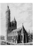 Adolf Friedrich Pond (Brunswick, Andreas church from the southeast) Prints