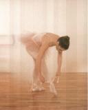 Ballerina Ballet Tie Shoes Art Print POSTER Dance Prima Mestertrykk
