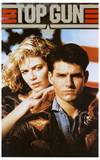 Top Gun Movie Tom Cruise and Kelly McGillis 80s Poster Print Posters