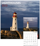 Lighthouses - 2013 Wall Calendar Calendars