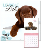 Lovable Labs by Myrna - 2013 Wall Calendar Calendars