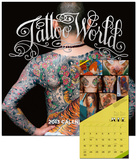 Tattoo World - 2013 Wall Calendar Calendars