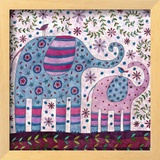 Elephant Walk Prints by Kim Conway
