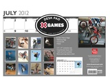 X Games All Sports: Motocross/Skateboarding/Snowboarding - 2013 Academic Desk Pa Calendars