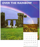 Rainbow, Over The - 2013 Wall Calendar Calendars