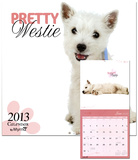 Pretty Westies by Myrna - 2013 Wall Calendar Calendars