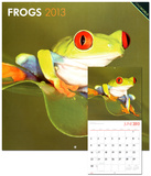 Frogs - 2013 Wall Calendar Calendars