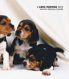 Puppies, I Love - 2013 Monthly Personal Planner Calendars