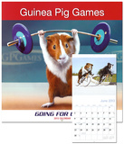 Guinea Pig Games - 2013 Wall Calendar Calendars