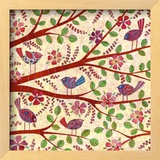 Birds on Branches Art by Kim Conway