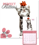 Perfect Kittens by Myrna - 2013 Wall Calendar Calendars