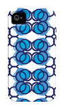 Blue Design, no. 100 iPhone 4/4S Case por Avalisa