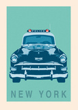 New York - Cop Car Prints by Ben James