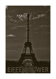 Eiffel Tower Posters by John Harper