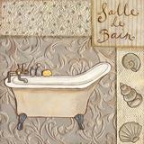 Salle De Bain Prints by Sophie Harding