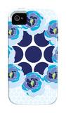 Blue Wreath iPhone 4/4S Case by  Avalisa
