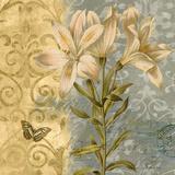 Flowers Butterfly II Posters by Emma Hill