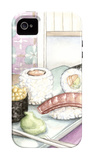 Sunakku II iPhone 4/4S Case by Megan Meagher