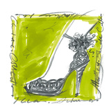 Catwalk Heels II Print by Jane Hartley